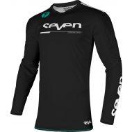 Seven Rival Rampart Jersey Black