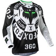 Fox Racing 360 Nobyl Jersey Black/White