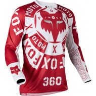 Fox Racing 360 Nobyl Jersey Red/White