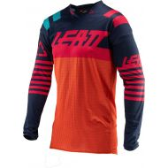 Leatt 2019 GPX 4.5 X-Flow Jersey Ink/Orange