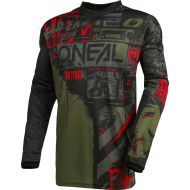O'Neal 2021 Element Ride Jersey Black/Green