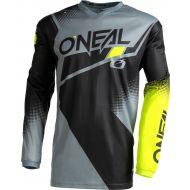 O'Neal 2022 Element Racewear Jersey Black/Grey/Yellow