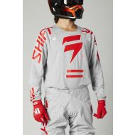 Shift MX Black Label King Jersey Gray/Red
