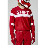 Shift MX White Label Haut Jersey Red