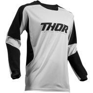 Thor 2019 Terrain Gear Jersey Light Gray/Black