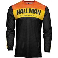 Thor 2021 Hallman Tapd Air Jersey Black/Orange