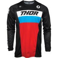 Thor 2021 Pulse Racer Jersey Black/Red/Blue