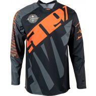 509 R-Series Windproof Jersey Dark Ops/Orange