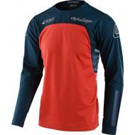 Troy Lee Designs Scout SE Jersey Systems Marine/Orange