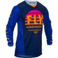 Fly Racing 2020 Kinetic K220 Jersey Midnight/Blue/Orange