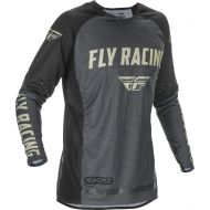 Fly Racing 2021 Evolution DST Jersey Grey/Black/Stone