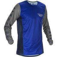 Fly Racing 2021 Kinetic K121 Jersey Blue/Navy/Grey