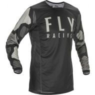 Fly Racing 2021 Kinetic K221 Jersey Black/Grey