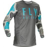 Fly Racing 2021 Kinetic K221 Jersey Grey/Blue