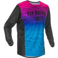 Fly Racing 2021 Kinetic SE Jersey Black/Pink/Blue