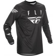 Fly Racing 2021 Universal Jersey Black/White