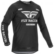 Fly Racing 2022 Evolution DST Jersey Black/White