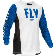 Fly Racing 2022 Kinetic Wave Jersey White/Blue