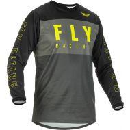 Fly Racing 2022 F-16 Jersey Grey/Black/Hi-Vis