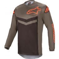 Alpinestars Fluid Speed Jersey Dark Gray/Orange