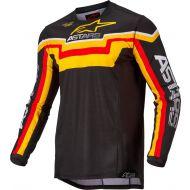 Alpinestars 2022 Techstar Quadro Jersey Black/Yellow/Tangerine