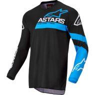 Alpinestars 2022 Fluid Chaser Jersey Black/Neon Blue