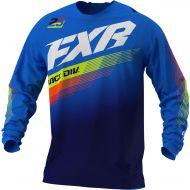 FXR 2021 Clutch MX Jersey Blue/Navy/Hi-Vis