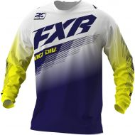 FXR 2021 Clutch MX Jersey White/Navy/Yellow