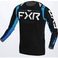 FXR 2022 Helium Jersey Black/Sky Blue