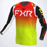 FXR 2022 Helium Jersey Black/Inferno