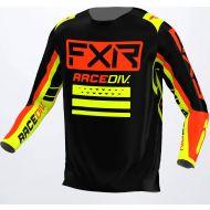 FXR 2022 Clutch Pro Jersey Black/Nuke Red/Hivis