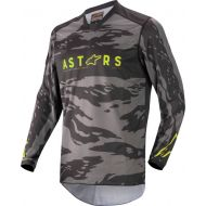 Alpinestars 2022 Racer Tactical Youth Jersey Black/Gray Camo/Fluo Yellow