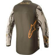 Alpinestars 2022 Racer Tactical Youth Jersey Military/Sand Camo/Tangerine