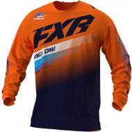 FXR 2021 Clutch Youth MX Jersey Orange/Midnight