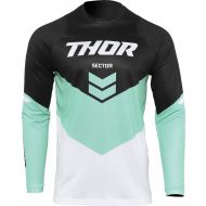 Thor 2022 Sector Chev Youth Jersey Black/Mint