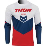 Thor 2022 Sector Chev Youth Jersey Red/Navy