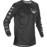 Fly Racing 2021 Kinetic K121 Youth Jersey Black/White