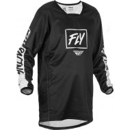 Fly Racing 2022 Kinetic Rebel Youth Jersey Black/White