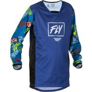 Fly Racing 2022 Kinetic Rebel Youth Jersey Black/Blue