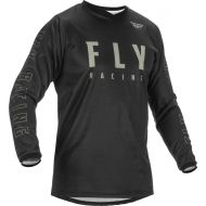 Fly Racing 2022 F-16 Youth Jersey Black/Grey