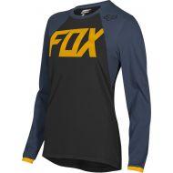 Fox Racing 2019 Switch Womens Jersey Mata Drip Black/Navy