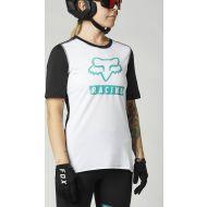 Fox Racing MTB Ranger SS Womens Jersey White/Black