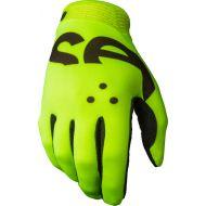Seven 18.1 Zero Crossover Gloves Flo Yellow