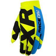 FXR 2020 Slip-On Lite MX Glove Hi Vis/Black/Blue
