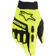 Alpinestars 2022 MX Full Bore Gloves Fluo Yellow/Black