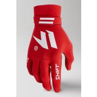 Shift MX Black Label Invisible Gloves Red/White