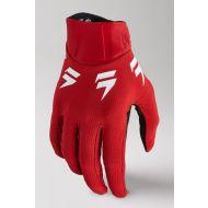 Shift MX White Label Trac Glove Red