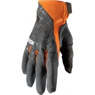 Thor 2021 Draft Gloves Charcoal/Orange