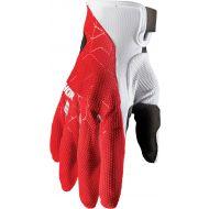 Thor 2021 Draft Gloves Red/White