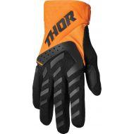 Thor 2022 Spectrum Gloves Orange/Black